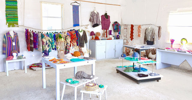 Craft business - boutique retail shop visual merchandising makeover
