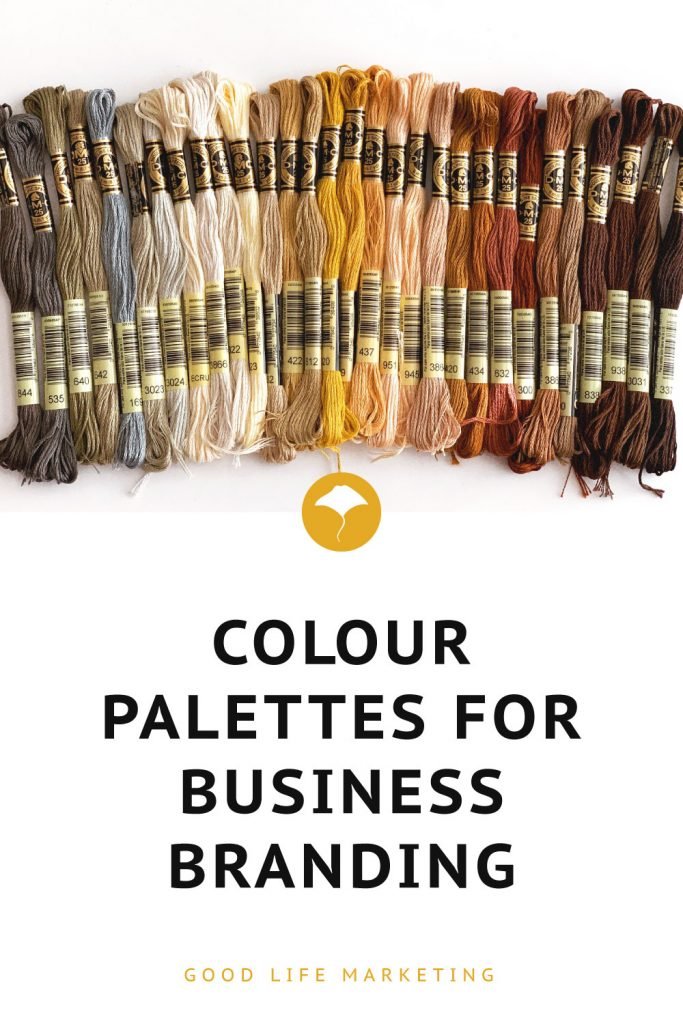 Colour palette ideas pin