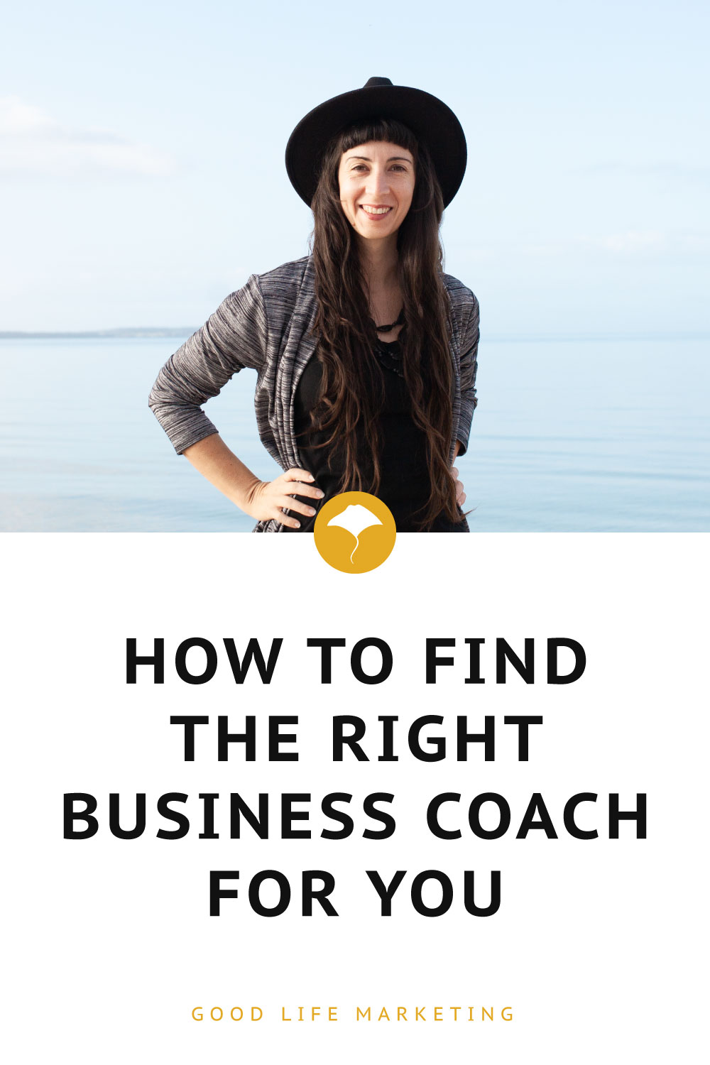 Business coaching pin